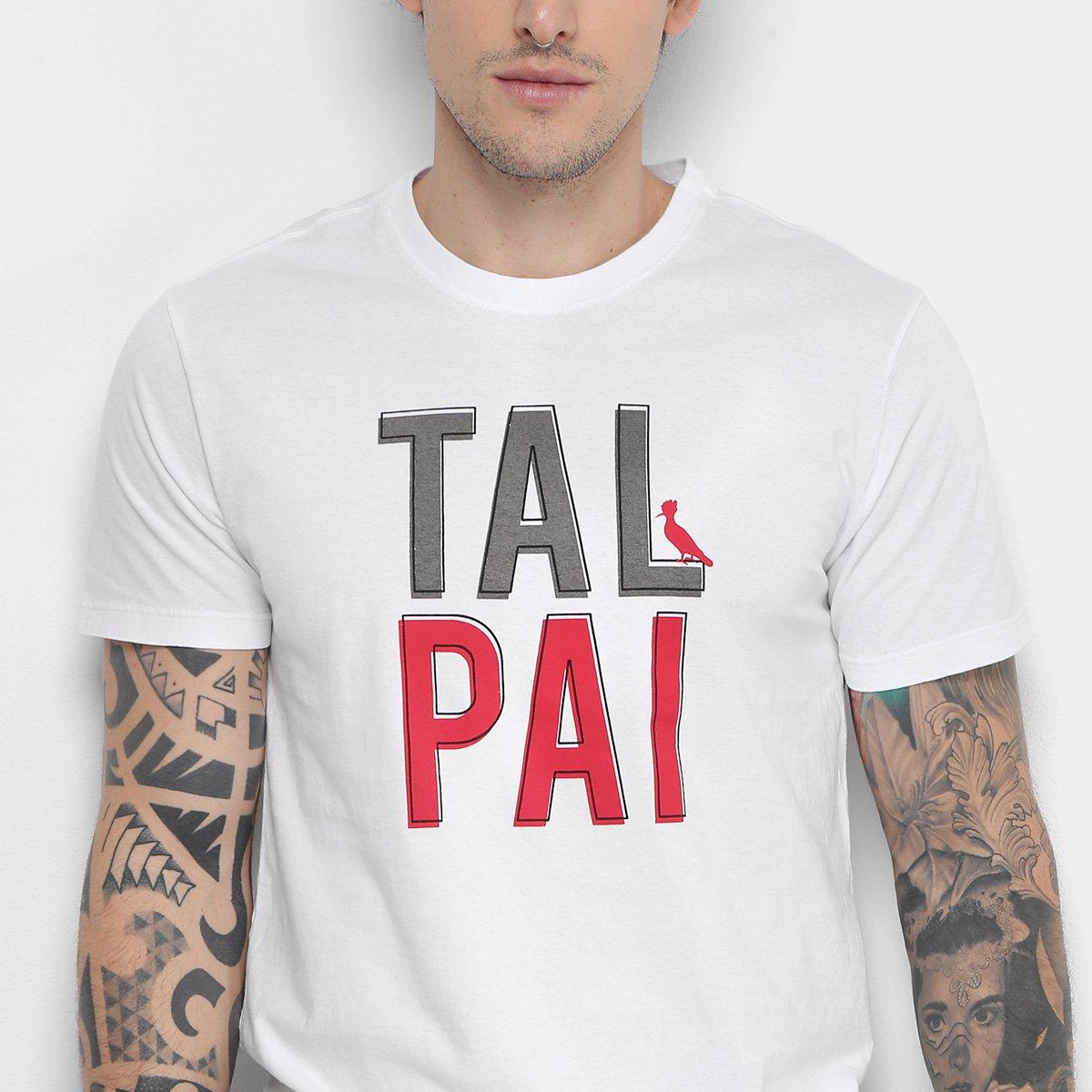 4fbcd3aae7 Camiseta Reserva Pai e Filho Tal Pai Masculina - Branco - Compre ...