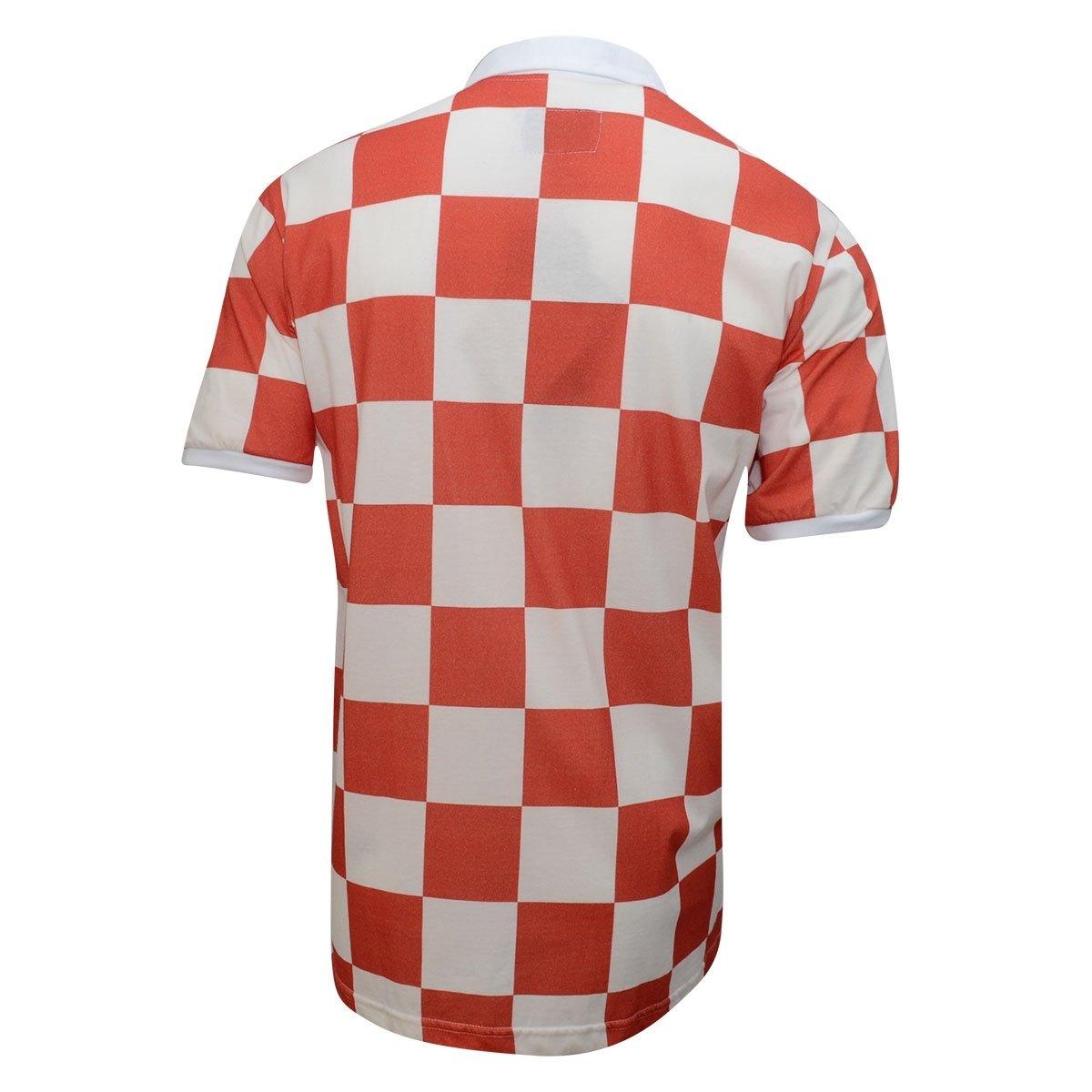 b30402bbcf Camiseta Retrô Croácia Liga Retrô  Camiseta Retrô Croácia Liga Retrô