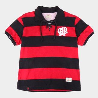 Camiseta Retrô Juvenil Athletico Paranaense 1924 Retrô Mania
