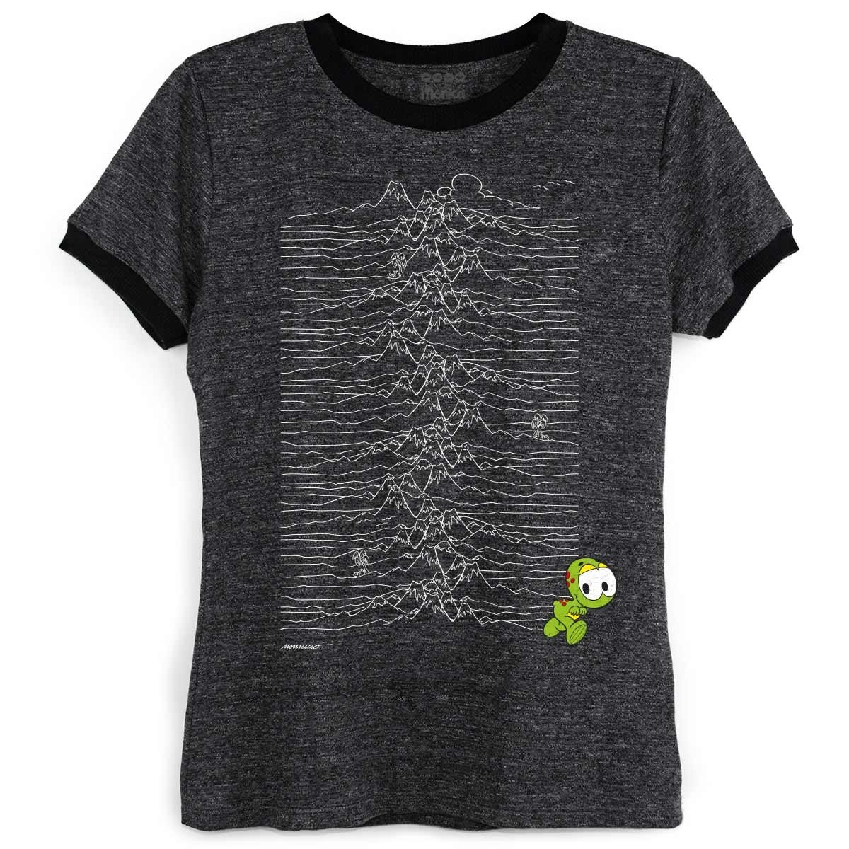 Mônica bandUP Horácio Turma Unknown Ringer Camiseta Grafite Camiseta Ringer da HqpUUg
