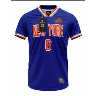 Camiseta Rinno Force New York J Dry Retrô Futebol Americano