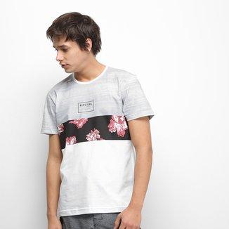 Camiseta Rip Curl Flower Cut Masculina