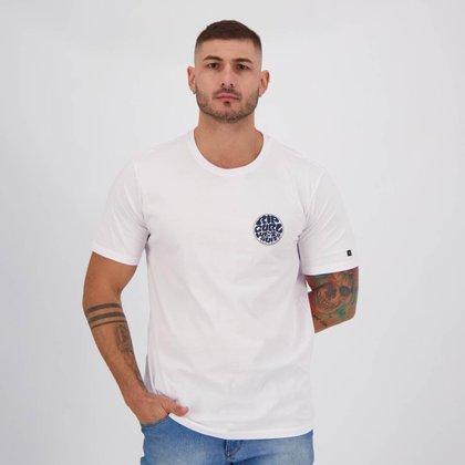 Camiseta Rip Curl Wettie Essentials Branca