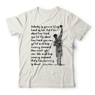 Camiseta Rocky Balboa Frase