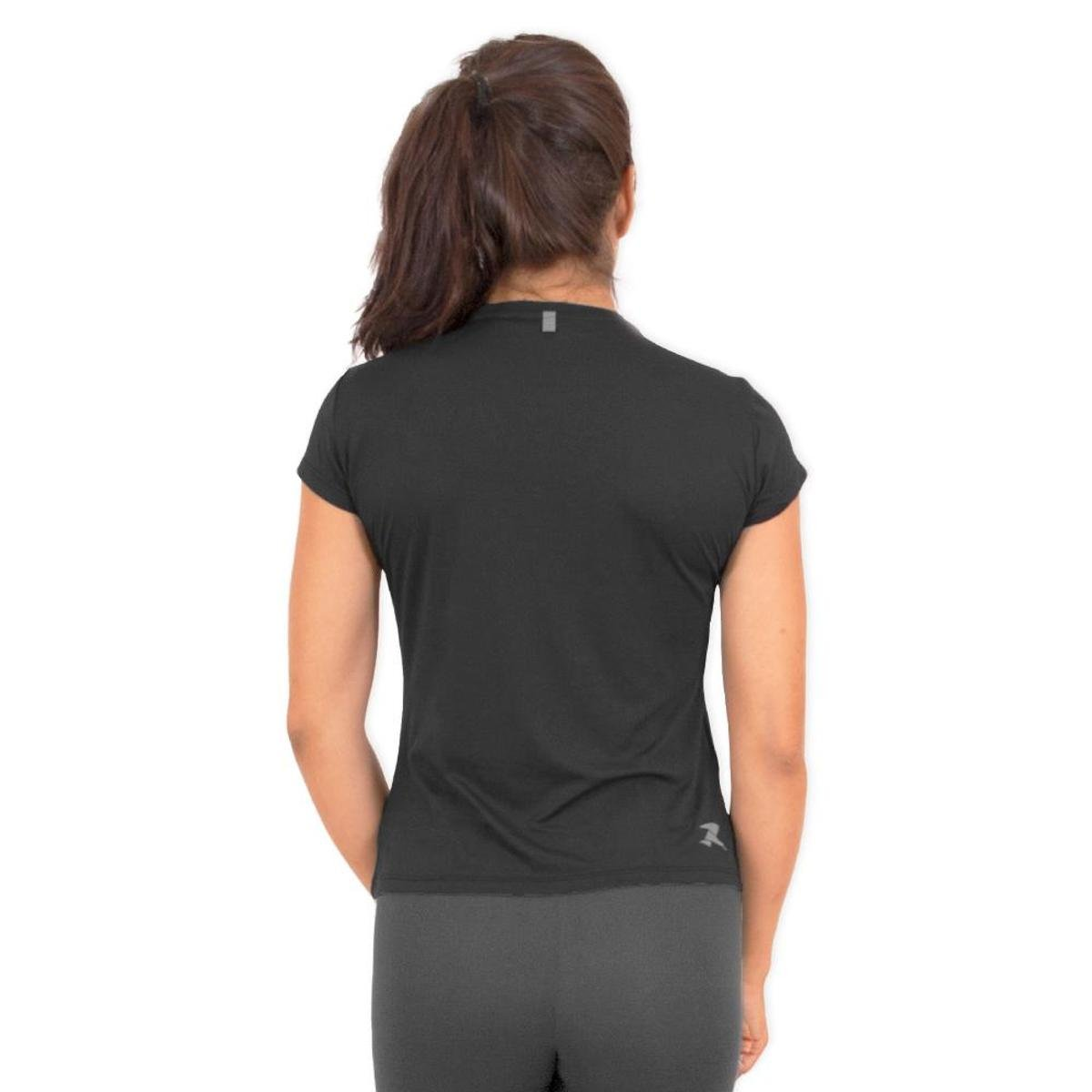 Camiseta Poliamida G1 200 CSR 50 UV Running Performance SS Preto SOYxEgqSrw