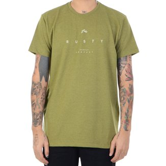 Camiseta Rusty Straight Line Masculina