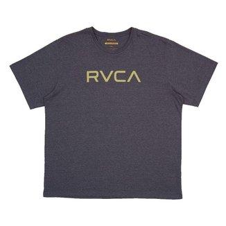 Camiseta RVCA Big RVCA Plus Size Masculina