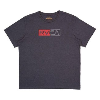 Camiseta RVCA Divider Plus Size Masculina