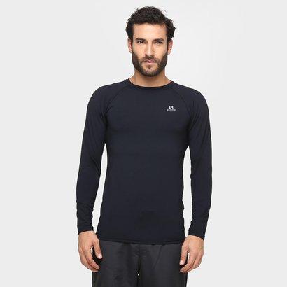 Camiseta Salomon Hybrid LS