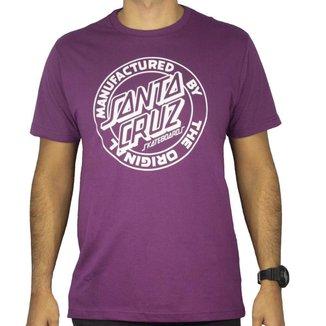Camiseta Santa Cruz Mfg Dot Masculino