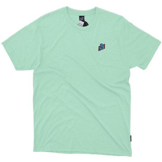 Camiseta Santa Cruz Work Hand - Masculino - Azul