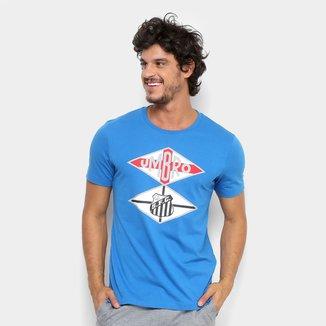 Camiseta Santos Flag Torcedor Umbro Masculina