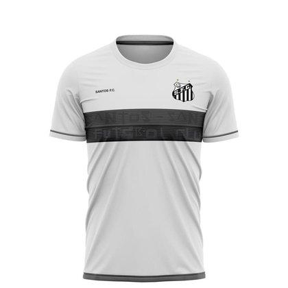Camiseta Santos Futebol Clube Braziline Approval Masculino