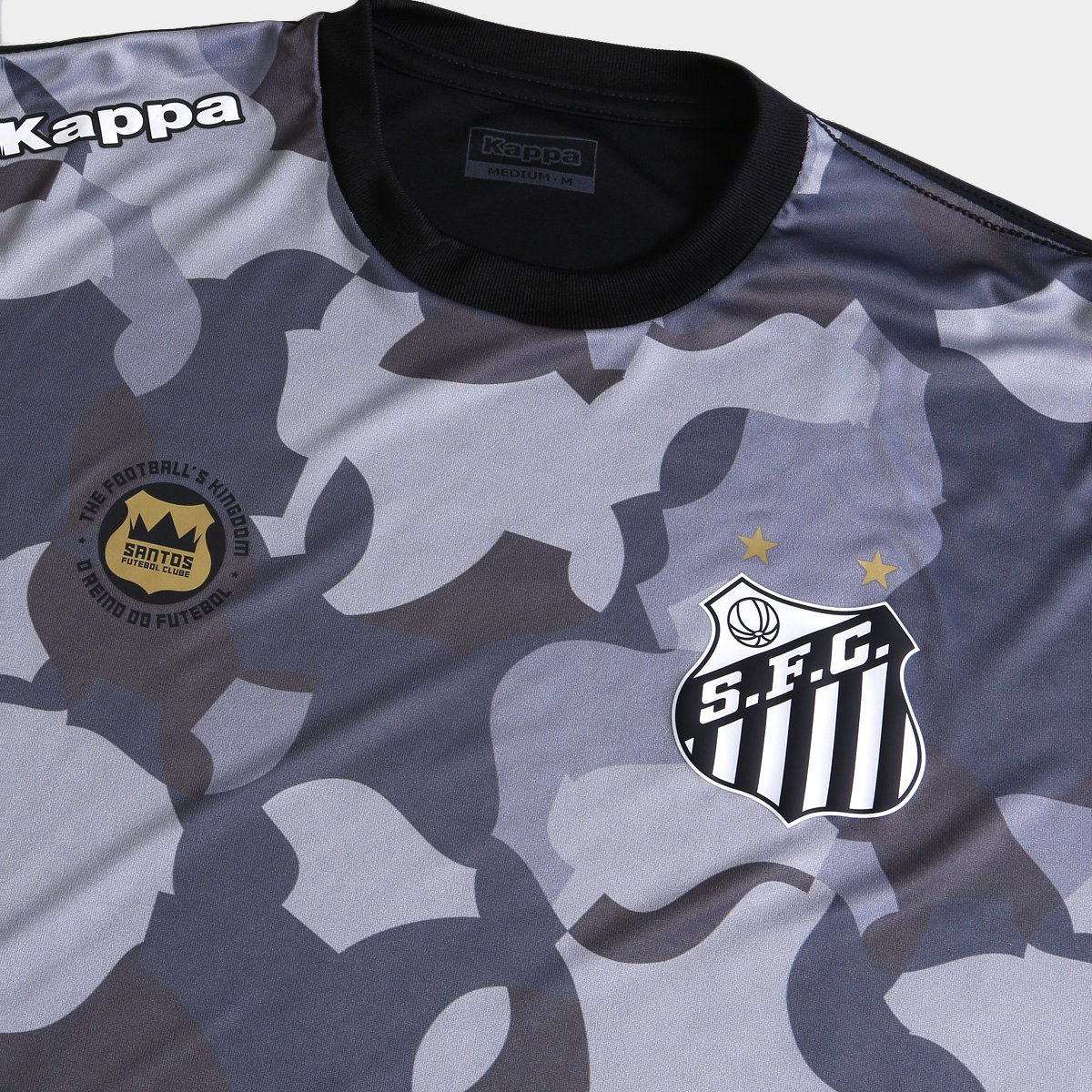 942a5feeb5 Camiseta Santos Kappa Vila Belmiro 17 Masculina - Compre Agora ...