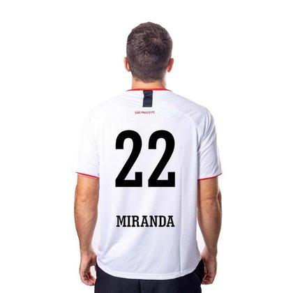 Camiseta São Paulo Insight 22 Miranda