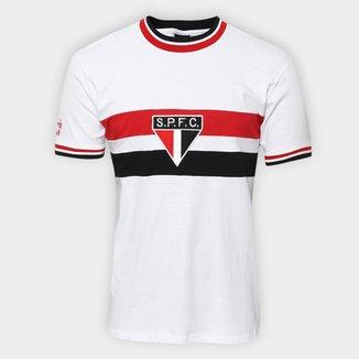 Camiseta São Paulo Réplica Retrô 1969 Masculina