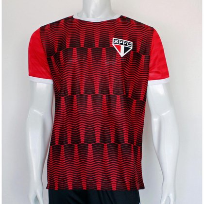 Camiseta São Paulo SPR Jacquard Quaid Masculino