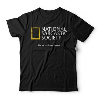 Camiseta Sarcastic Society