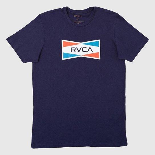Camiseta Sax RVCA - Azul