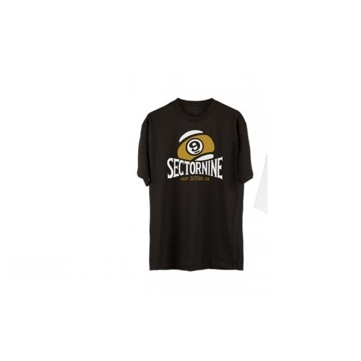 9 Camiseta Preto Preto XLG Sector Camiseta Sector vnWH5