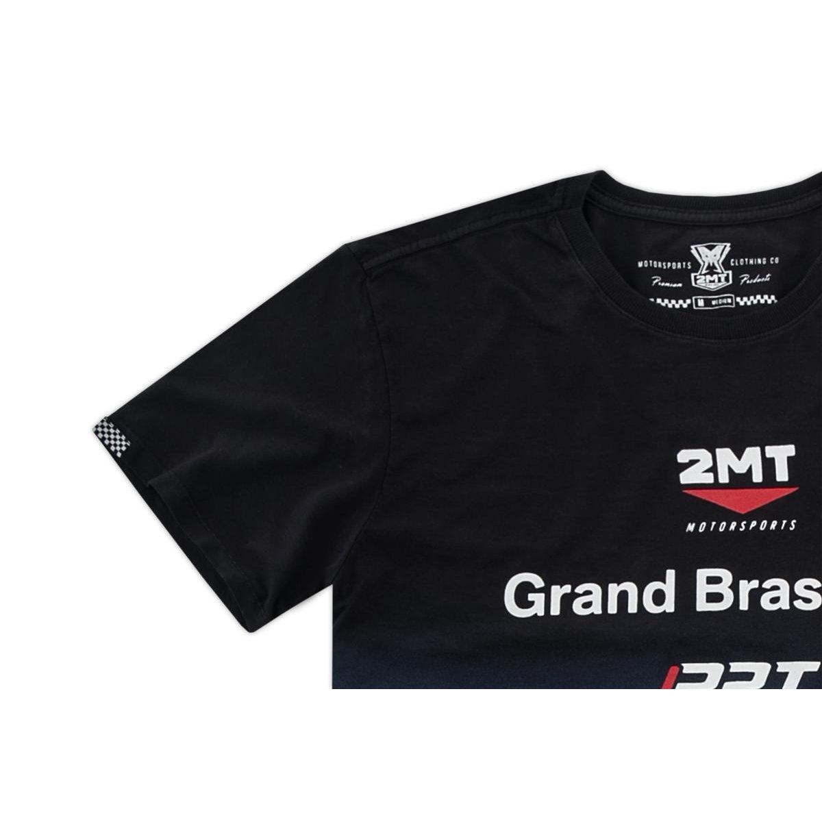 0254d876af Camiseta Segunda Pele 2mt - Oficial da Equipe BMW - Azul e Marinho ...