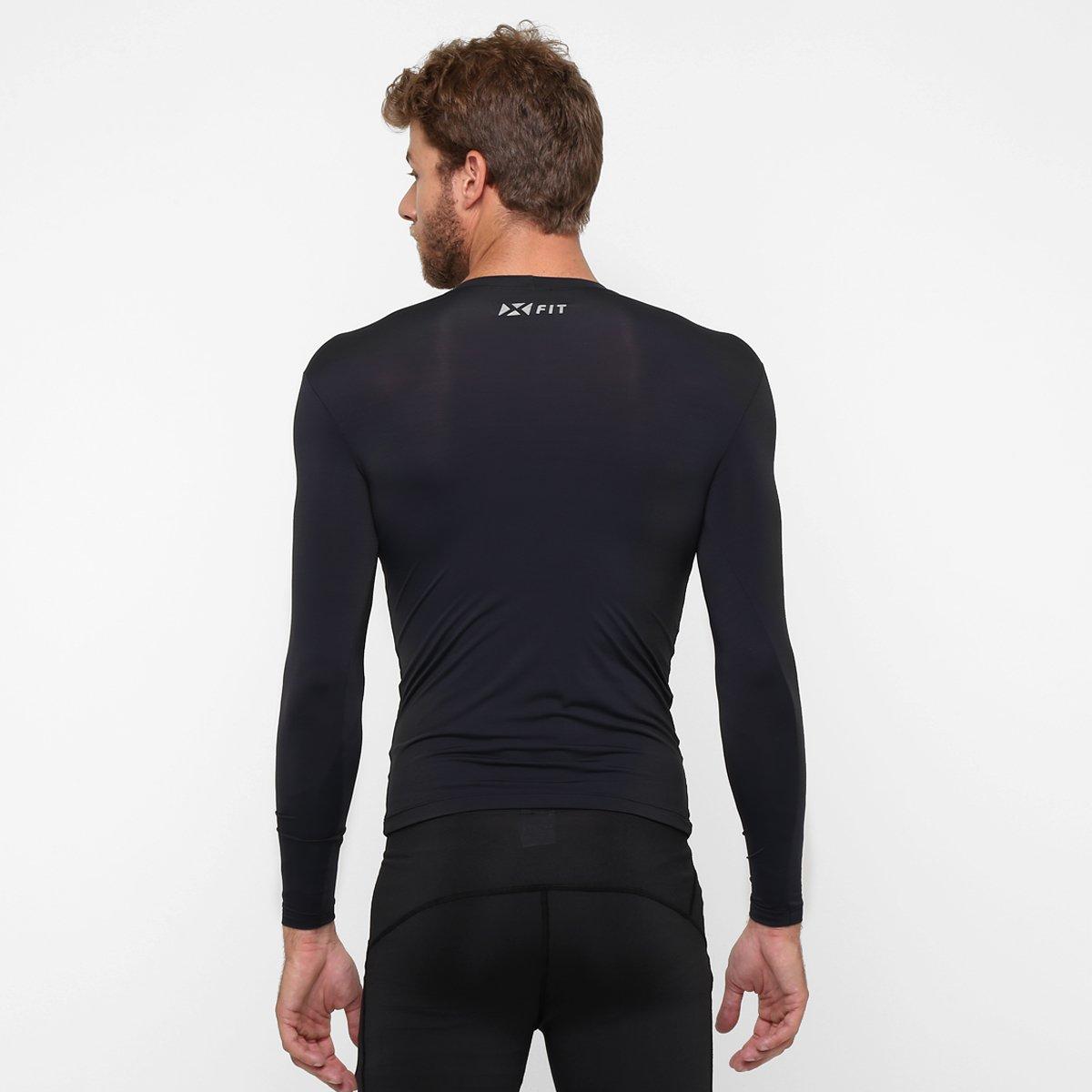 Camiseta Segunda Pele Woom X-Fit - Compre Agora  c7c3874a3dd99