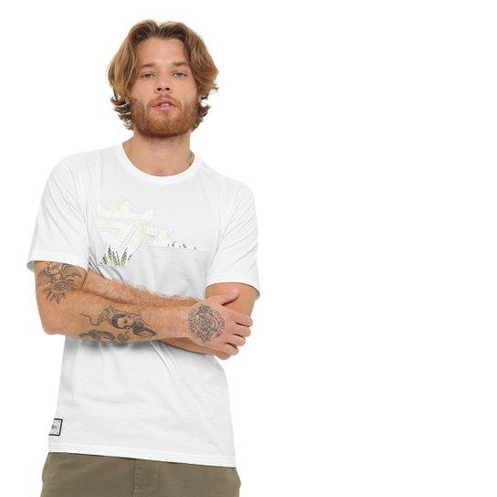 Camiseta Seven Brand Bolt Sonn Prive Masculina - Off White