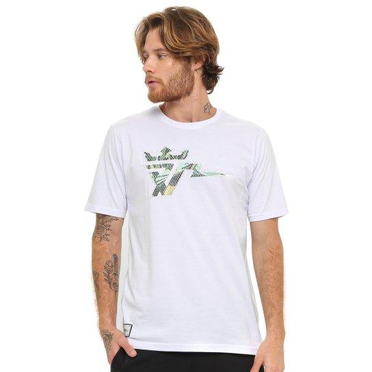 Camiseta Seven Brand Bolt Sonn Prive Masculina - Branco