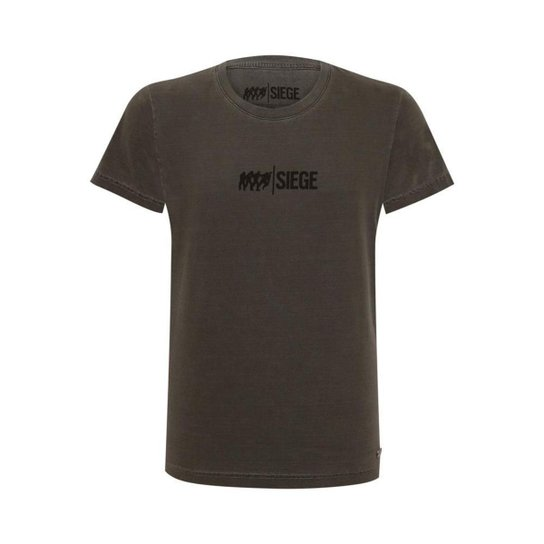 Camiseta Siege Mist - Preto