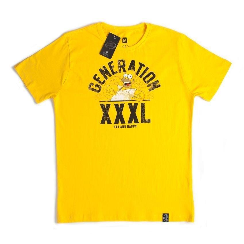 Camiseta Incolor XXXL Simpsons Generation Simpsons Generation XXXL Camiseta ng1wxgq8Rr