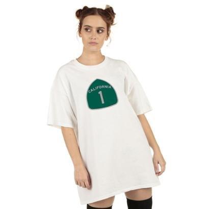 Camiseta Skull Clothing California 1 Feminina