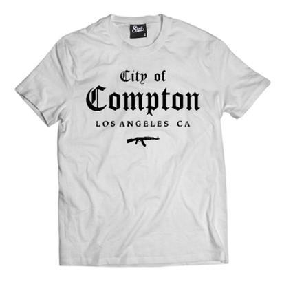 Camiseta Skull Clothing City of Compton Masculina