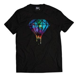 Camiseta Skull Clothing Diamond Masculina