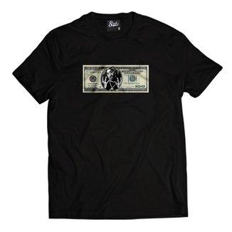 Camiseta Skull Clothing Dollar Tupac Masculina