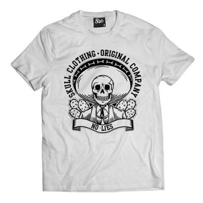 Camiseta Skull Clothing No Lies Masculina