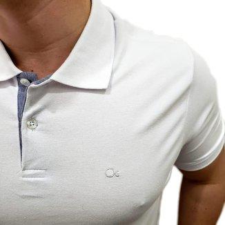 Camiseta Slim Gola Polo Masculino Ogochi   Masculina