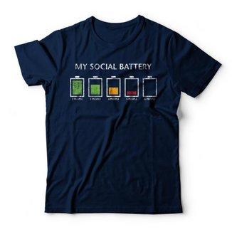 Camiseta Social Battery