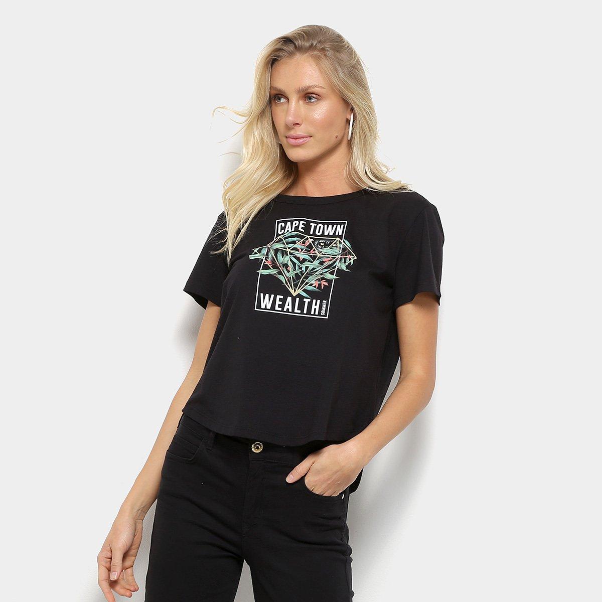 gg X-grande Roxo//Preto Nixon Asas Camiseta Manga Curta Camiseta