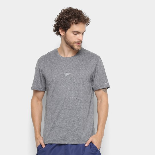 Camiseta Speedo Blend Masculina - Chumbo