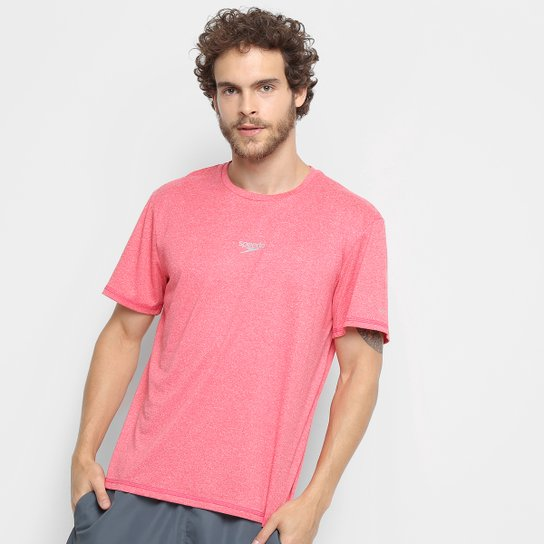 Camiseta Speedo Blend Masculina - Rosa