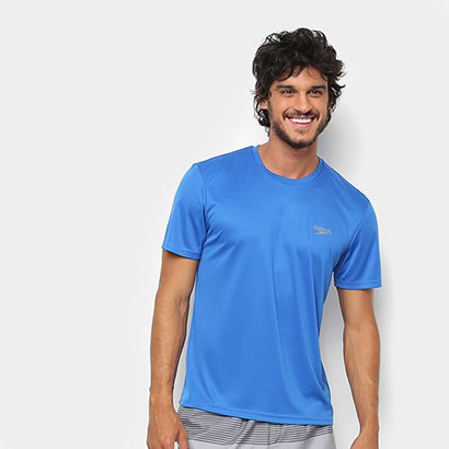 Camiseta Speedo Interlock Masculina - Masculino