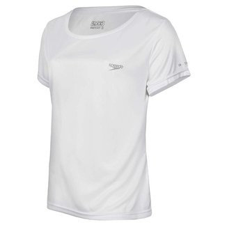Camiseta Speedo Interlock UV 50+ Feminina