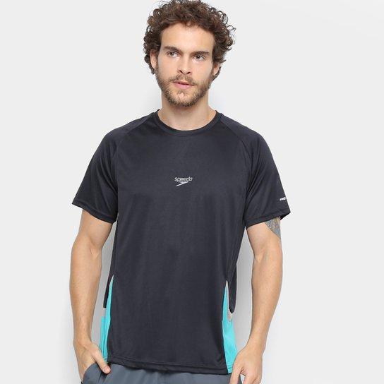 Camiseta Speedo Line Masculina - Preto
