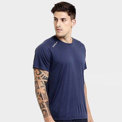 Camiseta Speedo Raglan Basic Com Proteção UV Masculina
