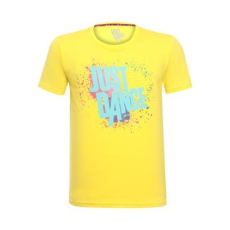 Camiseta Splash Unissex Just Dance Ubisoft