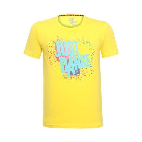 Camiseta Splash Unissex Just Dance Ubisoft - Amarelo