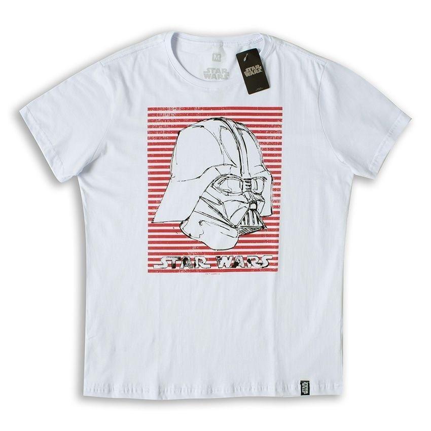 Stripes Branco Camiseta Star Wars Camiseta Vader Star 6qgpw ... 40805d810b526