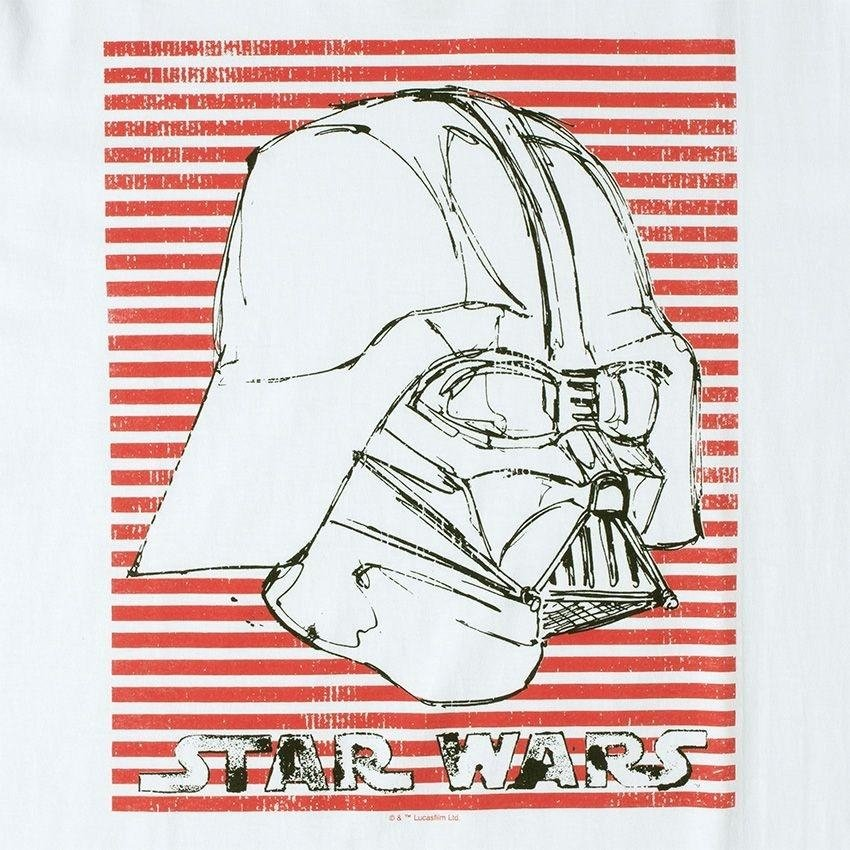 738344dc24 ... Stripes Branco Camiseta Star Wars Camiseta Vader Star 6qgpw ...