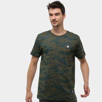 Camiseta Starter Camuflada Masculina