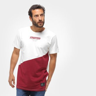 Camiseta Starter Colorblock Masculina